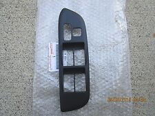 01 - 05 TOYOTA RAV4 DRIVER MASTER POWER WINDOW SWITCH BEZEL TRIM BLACK OEM NEW