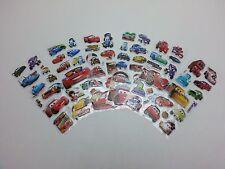 Disney Pixar Car McQueen & Mater 3D Classic Cartoon Stereoscopic Sticker 6 PCS