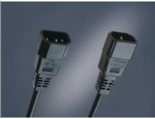IEC Extension Cable C13 to C14 Male Plug to Female Socket 1m
