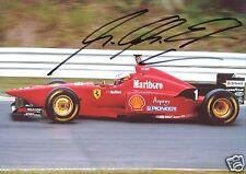 Michael Schumacher SIGNED 6x4 PHOTO F1 FORMULA ONE AUTOGRAPH FERRARI