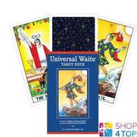 UNIVERSAL WAITE PREMIER EDITION TAROT CARDS DECK ORACLE ESOTERIC TELLING NEW