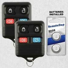 2 For 2006 2007 2008 2009 2010 2011 2012 Ford Focus Fusion Car Remote Key Fob