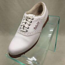 FootJoy Green-Joys Women's Golf Shoes 48717. Size 7 M White        OD2