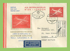 First Day of Issue Aviation Cover European Stamps