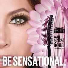 Maybelline Lash Sensational Washable Volume Mascara Black Pearl 303 Express Post