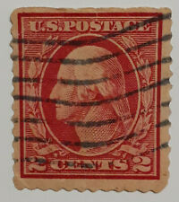 RARE George Washington 2 Cent RED Postage Stamp - Two Cent USPS Stamp