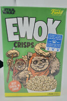 Funko Pop Star Wars Disney Ewok Crisps Cereal Box T-Shirt - Size M- New Sealed!