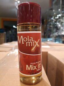Mola Mix Natur Molasses 100ml,Glycerin Molasse, Shishatabak Feuchthaltemittel