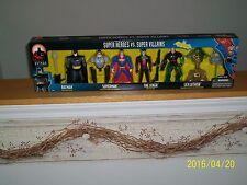 Hasbro Batman Animated Series Super Heroes vs Super Villians 4 pack