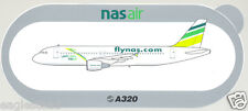 Baggage Label - Nas Air nasair - Airbus A320 Sticker (Saudi Arabia) (BL403)