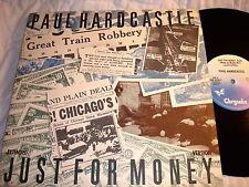 """PAUL HARDCASTLE-JUST FOR MONEY/BACK IN TIME-CHRYSALIS 4V9 42937 NM/VG+ 12"""""""