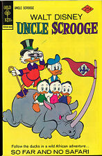Gold Key Uncle Scrooge #127 African Adventure So Far No Safari (1976) MINT NEW
