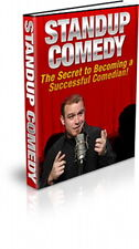 STAND UP COMEDY - Learn The Secrets To Entertainment Success And Big Laughs (CD)