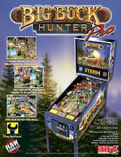 2010 STERN BIG BUCK HUNTER PRO PINBALL FLYER MINT