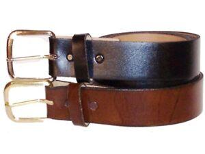 Men's New Leather Cowhide Belt 32 34 36 38 40 42 44
