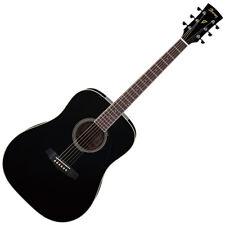 Ibanez PF15-BK  PF Acoustic Guitar, Black