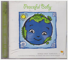 PEACEFUL BABY (CD, 2002, Advanced Brain Tech)