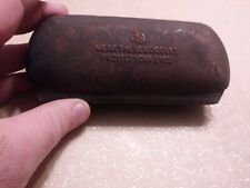 Vtg Metal Safety Glasses case Ao Wear These Goggles Protect Your Eyes