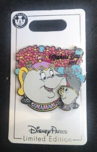 NEW Disney Parks Mothers Day 2020 Limited Edition Pin Mrs. Potts And Chip