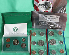 1996 Proof and Uncirculated Annual US Mint Coin Sets PDS 16 Coins