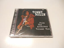 "Tommy Bolin ""From the archives vol. Two"" 1998 TB Archive cd Printed in USA"
