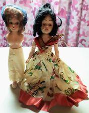 Lot of 2 - Vintage - 1948 - Duchess Doll - Hard Plastic