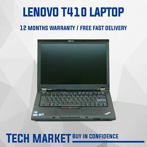 Lenovo Thinkpad T410 Core i5 2.53 Ghz Windows 10 Laptop - WIFI DisplayPort eSATA