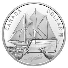 100th Anniversary of Bluenose - 2021 Canada Proof Silver Dollar