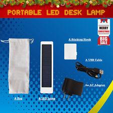 16 LEDs Solar Foldable Rechargable Reading Desk Table Lamp Light for Student Kid