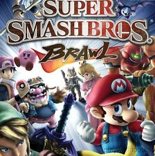 SUPER SMASH BROS. BRAWL Nintendo Wii Game