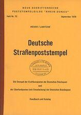 Heuer/Labitzke, Deutsche Straßenpoststempel (1976)