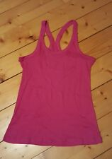 NORDICTRACK ♡ WOMEN'S ♡ FITNESS GYM  RUNNING YOGA ♡ PINK SEXY RACERBACK ♡ Size M