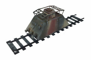 Railway WW2 Self Propelled Scout Carriage 28mm R032