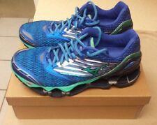 Womens Mizuno Wave Prophecy 5 Running Shoes Blue J1GD160034 Sz 8.5 Medium Width