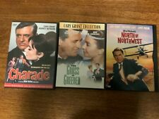 Cary Grant,Charade,Grass/Green er,North/Northwest,allVg, 3 classics, Cary!