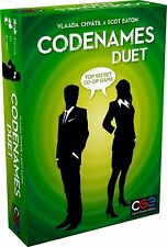 Codenames Duet Co-Op 2 Player Board Game Czech Games Edition CGE00040 Spies