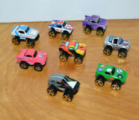Vintage MICRO MACHINES & ROAD CHAMPS Turbo Wheels Lot Toy Cars 1980's Galoob