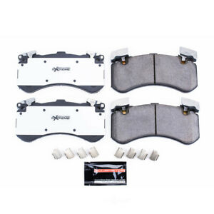 Power Stop for 16-18 Audi A7 Quattro Front Z26 Extreme Street Brake Pads w/Hardw