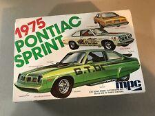 VINTAGE MPC 1/25 SCALE 1975 PONTIAC SPRINT MODEL KIT