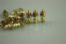 DIY Guitar Amplifier Tag Board Parts 24K Pure Copper Plated Gold Turrets 20PCS