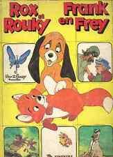 ALBUM FIGURINE PANINI Complet ROX ROUKY DISNEY stickers Fox Hound vignette 1981
