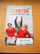 14/10/1975 Charlton Athletic v Queens Park Rangers [Football League Cup] . No ob