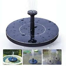 Solar Panel Water Feature Floating Pump Fountains Pool Pond Garden Bird Bath S,