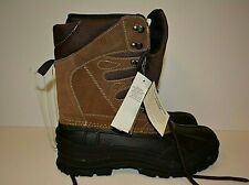 ITASCA Boots Men's Size 10 WATERPROOF HUNTING SNOW  Brown Leather Upper.