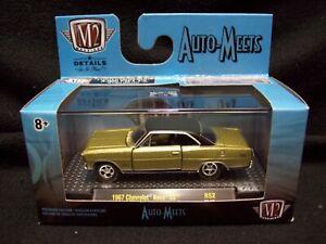 M2 Machines Auto Meets 1967 Chevy Nova SS Limited Edition.