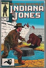 THE FURTHER ADVENTURES OF INDIANA JONES #22 (NM) COPPER AGE MARVEL