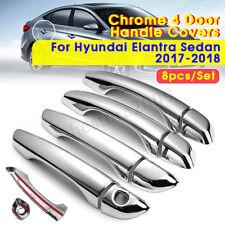 For 2017 2018 Hyundai Elantra Sedan ABS Chrome Door Handle Cover Trim Molding