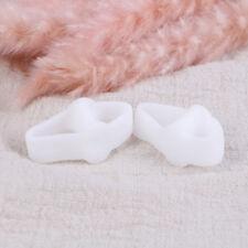 2x gel de silicone séparateur d'orteils pouce valgus protecteur oeil de pied aju