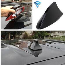 Black Universal Shark Fin Style Car Auto Roof FM/AM Signal Radio Aerial Antenna