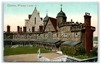 Picture Postcard Cloisters Windsor Castle Berkshire posted 1912